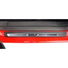 Soleira Premium Aço Escovado 4P Golf