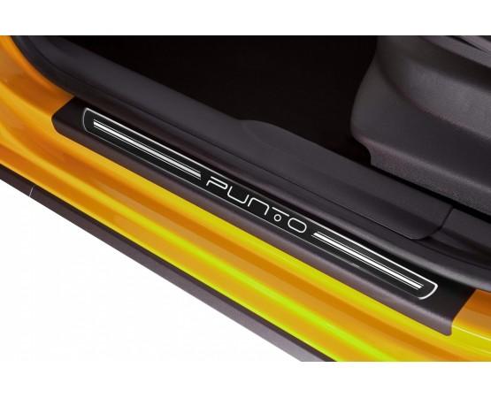 Soleira Premium Elegance2 4P Punto 2013 (NP Adesivos e Resinagem) por alfabetoauto.com.br