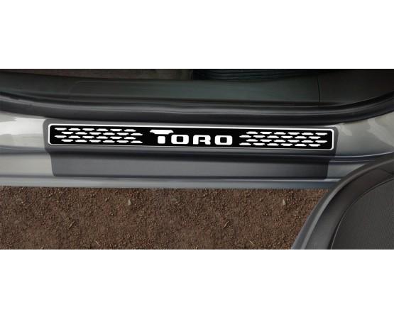 Soleira Premium Elegance2 4P Toro (NP Adesivos e Resinagem) por alfabetoauto.com.br