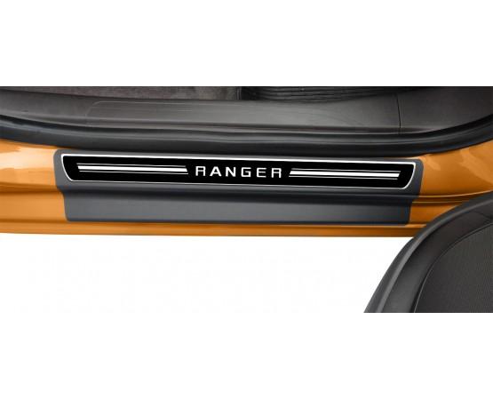 Soleira Premium Elegance2 4P Ranger (NP Adesivos e Resinagem) por alfabetoauto.com.br