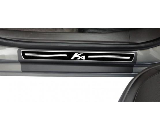 Soleira Premium Ford Elegance 4P Ka 2017 (NP Adesivos e Resinagem) por alfabetoauto.com.br