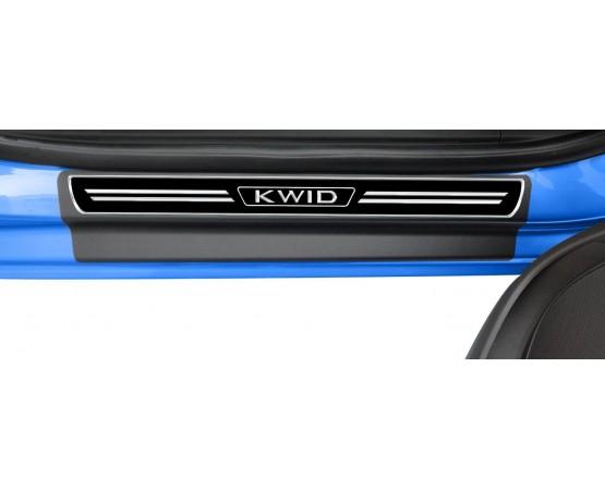 Soleira Premium Renault Elegance2 4P Kwid (NP Adesivos e Resinagem) por alfabetoauto.com.br