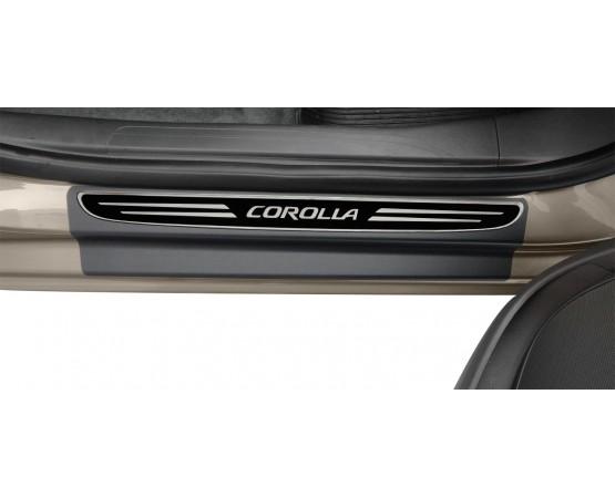 Soleira Premium Elegance2 4P Corolla 2014 (NP Adesivos e Resinagem) por alfabetoauto.com.br