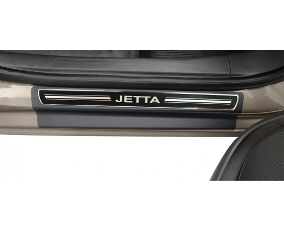 Soleira Premium Vw Elegance2 4P Jetta (NP Adesivos e Resinagem) por alfabetoauto.com.br