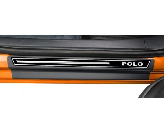 Soleira Premium Vw Elegance2 4P Polo 2018 (NP Adesivos e Resinagem) por alfabetoauto.com.br