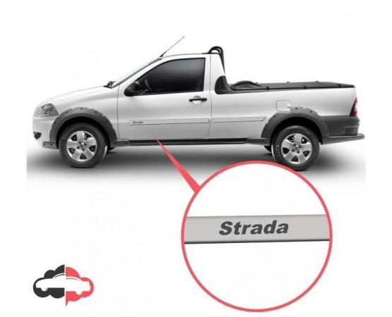 Friso Lateral Personalizado Fiat Strada