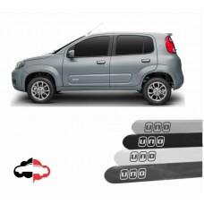 Friso Lateral Personalizado Fiat Novo Uno