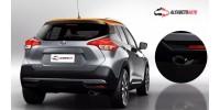 Ponteira de Escapamento Nissan Kicks Aço Inox 304