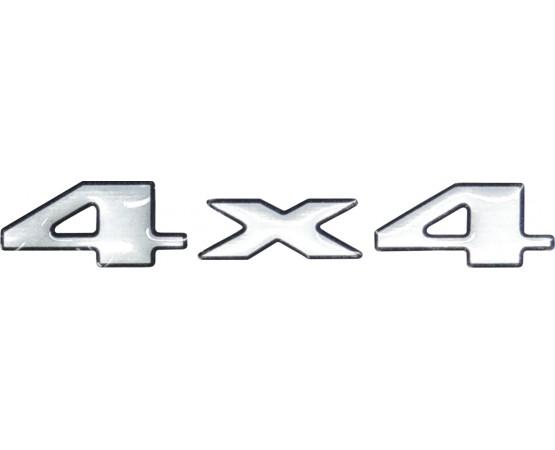 Emblema Adesivo 4X4 Mitsubishi L200 Sport GL GLS Outdoor