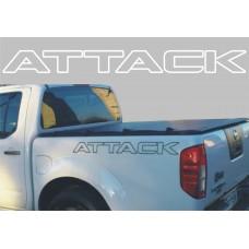 Adesivo Faixa Lateral Decorativa Attack Nissan Frontier a partir 2012