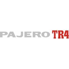 ADESIVO PAJERO TR4 - PAJERO TR4 16V PRATA S/ RESINA