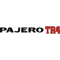 ADESIVO PAJERO TR4 - PAJERO TR4 16V PRETO S/ RESINA