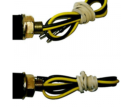 Pisca de Led Universal e Flexível para Motos Multilaser - MT202