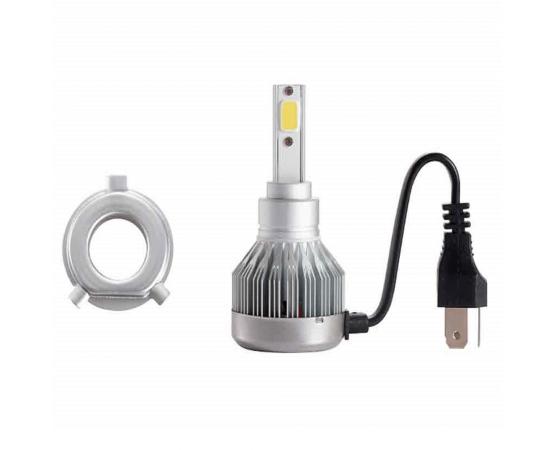 Lampada Automotiva Super Led modelo H4 30w 6200K (Unitário) - Multilaser AU834