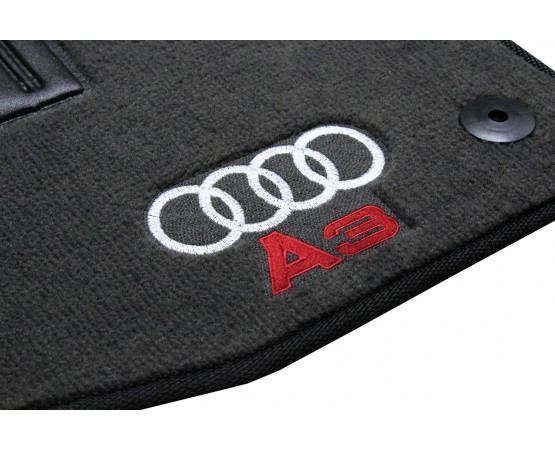 Jogo de Tapetes Audi A3 Sedan Luxo