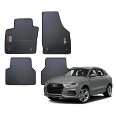 Jogo de Tapetes Audi Q3 Borracha