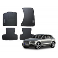 Jogo de Tapetes Audi Q5 Borracha