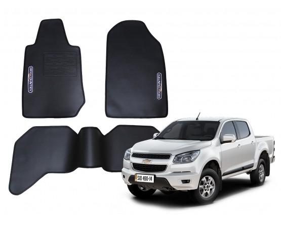Tapete Chevrolet S10 High Country Traseiro Inteiriço Borracha