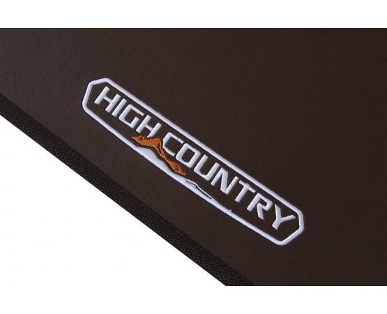 Tapete Chevrolet S10 High Country Traseiro Inteiriço Marrom Borracha