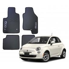 Jogo de Tapetes Fiat 500 Borracha