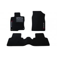 Jogo de Tapetes Honda Civic G10 Touring Traseiro Inteiriço Luxo