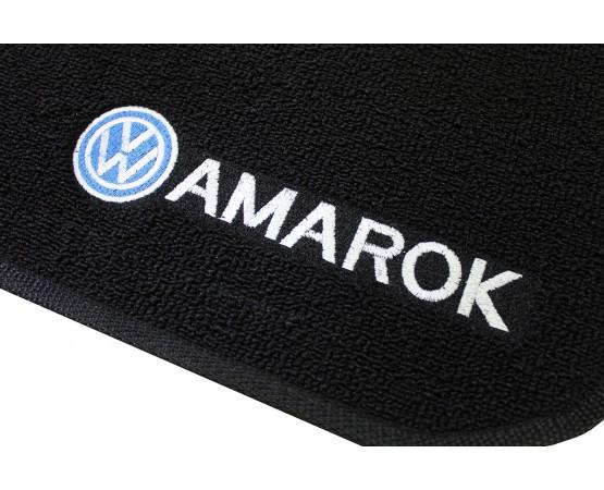 Tapete Volkswagen Amarok Preto Boucle