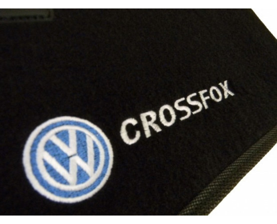 Tapete Volkswagen Crossfox Traseiro Inteiriço Luxo