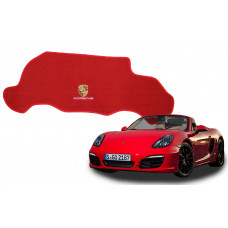 Tapete Porta Malas Para Porsche Boxster Vermelho Luxo