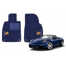 Tapete Para Porsche Boxster Azul Marinho Luxo