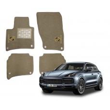 Jogo de Tapetes Porsche Cayenne S Luxo
